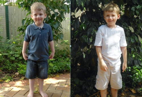 First and Last Day of School 2012