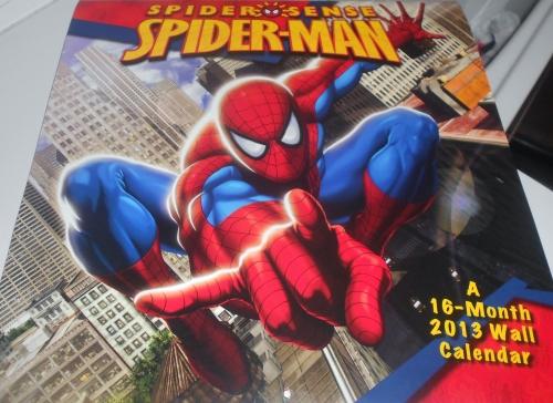 Spiderman Calendar